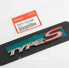 Authentic JDM Honda Accord Type S Rear Emblem 2008-2013, 75717-TLO-G20