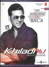 KHILADI.NO:1 - NEW ORIGINAL FILM SOUND TRACK 3 CDs SET-