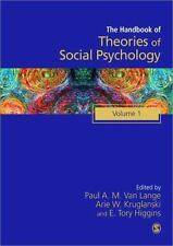 Handbook of Theories of Social Psychology: Volume One SAGE Social Psychology Pr