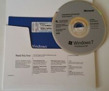Microsoft Windows 7 Professional SP1 64-bit - OEM - New and Sealed