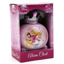 New Disney Princess Crown Top Alarm Clock Official Licensed