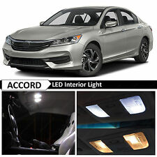 16x White Interior LED Lights Package Kit for 2013-2015 Honda Accord + TOOL