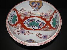 Imari Porcelain Bowl with Stand, Meiji period 1868-1912 excellent condition