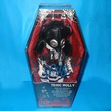 "MEZCO TOYS LIVING DEAD DOLLS SERIES 9 TOXIC MOLLY 10"" GOTHIC DOLL BOXED SEALED"