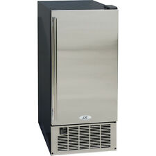 50 lb. Undercounter Ice Maker ~ Stainless Steel Built-In Clear Cube Ice Machine