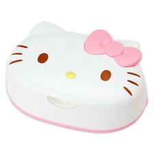 SANRIO Hello Kitty Wet Tissue and Face Shaped Case from Japan
