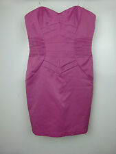 "WISH Sz S, 10 Dress BNWT Purple ""Accelerator Dress"" Corset style Party Cocktail"