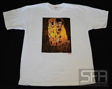 SUPREME VIENNA TEE WHITE LARGE GUSTAV KLIMPT THE KISS BOX LOGO F/W 2012 L