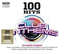 100 HITS-CLUB ANTHEMS 5 CD NEU DA HOOL/RAINDROPZ/F8/JESSY/YORK/JESSY