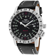 Glycine Men's 3887.19-66 LB9B Airman Base 22 Purist Automatic 42mm Watch