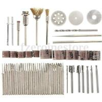 New 58Pcs Rotary Hobby Drill Multitool Accessory Set for Dremel Grinding Sanding