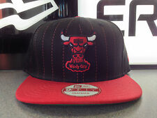CHICAGO BULLS NBA SNAPBACK CAP NEW ERA PINSTRIPE GREEN UNDERVISOR NAME ON BACK