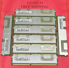 32GB (8 x 4Gb) PC3-8500R  2Rx4 DDR3 1066 REG ECC Server RAM 1 year WARRANTY