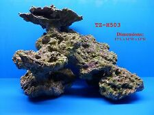 LIVE ROCK CORAL REEF TZ-H503 IMITATION POLYRESIN AQUARIUM DECOR FRESH OR SALT