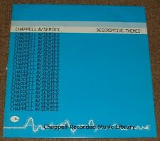 MUSIC LIBRARY CHAPPELL descriptive themes NICK SARGENT 1985 UK STEREO LP
