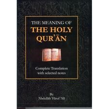 The Meaning of the Holy Qur'an, Abdullah Yusuf Ali English only, Selected Note