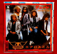 "AEROSMITH DUDE (looks like a lady) 7"" JAPAN vinyl Glam Hard Rock no Lp"