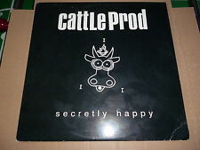 CATTLE PROD / secretly happy (Vinyl)