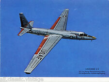 Postcard 265 - Plane/Aviation Lockheed U2