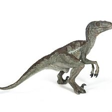 Papo Velociraptor Dinosaur Figurine - Figure High Quality Detailed Plastic 55023