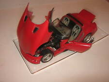 1:18 Dodge Viper rt/10 red Burago en Showcase Top