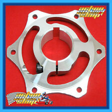 "GO KART "" 40MM BRAKE DISC CARRIER HUB "" FOR 40MM AXLE with 8MM KEY"