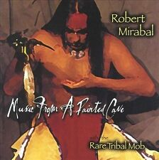 ROBERT MIRABEL WITH THE RARE TRIBAL MOB: MUSIC FROM A PAINTED CAVE CD! MINT