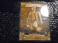 2016 Topps WWE Anti - Authority 5x7 Perspectives Gold  /10 Chris Jericho  #17AA