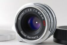 [ Top Mint ] Rollei HFT Sonnar 40mm F2.8 w/ Leica M Adapter From Japan 9251690