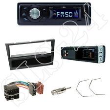 Caliber rmd021 radio del coche + Opel Astra G/Corsa diafragma negro + adaptador ISO + set