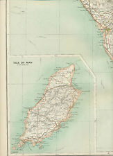 2310 1898 MAP of Royal Atlas of England & Wales Pl.20 MORECAMBE with ISLE OF MAN
