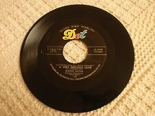 BONNIE GUITAR  A VERY PRECIOUS LOVE/JOHNNY VAGABOND  DOT 15708