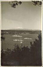 Chile Postcard Puerto Montt Barcos de la Armada Navy ship