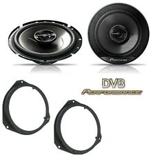 Vauxhall Corsa 2006-2014 Pioneer 17cm Front Door Speaker Upgrade Kit 240W