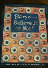 Ripley's Believe it or Not! by Robert Ripley 2004 Hardcover