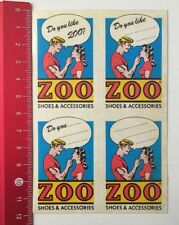 Autocollant/sticker: zoo-shoes & Accessories (070616138)