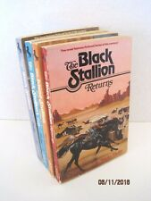 The Black Stallion Series by Walter Farley, Lot of 4