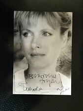 SUSAN WOOLDRIDGE - POPULAR BRITISH ACTRESS - SIGNED B/W PHOTOGRAPH