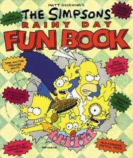 The Simpsons Rainy Day Fun Book-ExLibrary
