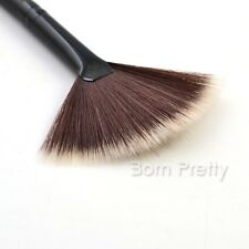 1Pc Slim Fan Brush Hair Blush Face Powder Foundation Makup Brush Good Quality
