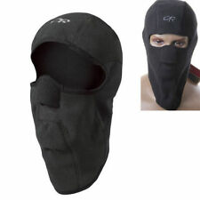 Black Full Face Mask Cover Hat Cap Motorcycle Thermal Fleece Balaclava Winter