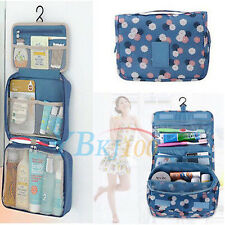 Women Travel Camping Toiletry Hanging Wash Makeup Storage Bag Economic Bag