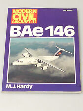 (PRL) LIBRO AEREO AEROMOBILE BAE 146  AIRCRAFT AIRPLANE ENGLISH BOOK LIVRE AVION
