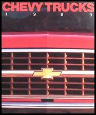 1989 Chevrolet Truck Brochure, Blazer S-10 Full Size