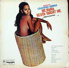 LORD CREATOR Calypso Songs Me Mama Never Taught Me STUDIO ONE LP