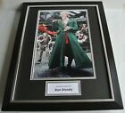 Ron Moody SIGNED FRAMED Photo Autograph 16x12 display Oliver Film Musical COA