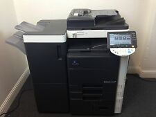 Konica Minolta Bizhub C550 Color Copier Printer Scanner Network USB 4 drawers