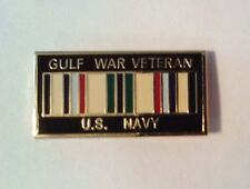 U.S. Navy Gulf War Veteran Hat Pin   1 1/4""