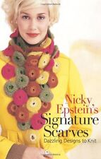 Nicky Epstein's Signature Scarves Dazzling Designs to Knit Knitting Patterns NEW