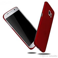Red Ultra Slim Matte Hard Plastic Case Cover Skin For Samsung Galaxy S7 Edge